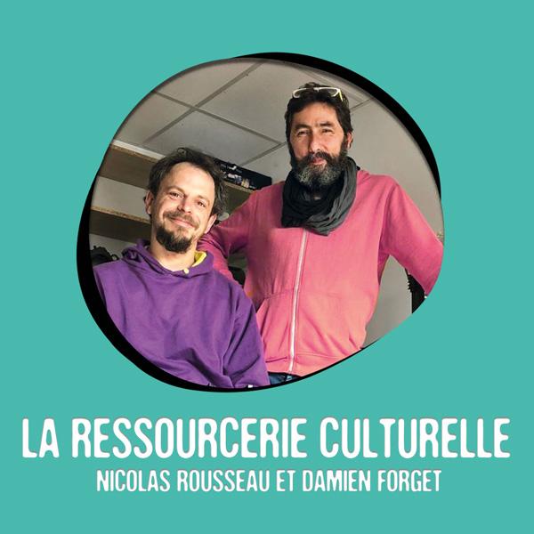 La Ressourcerie Culturelle est membre résidente au Moulin Créatif à Montaigu-Vendée