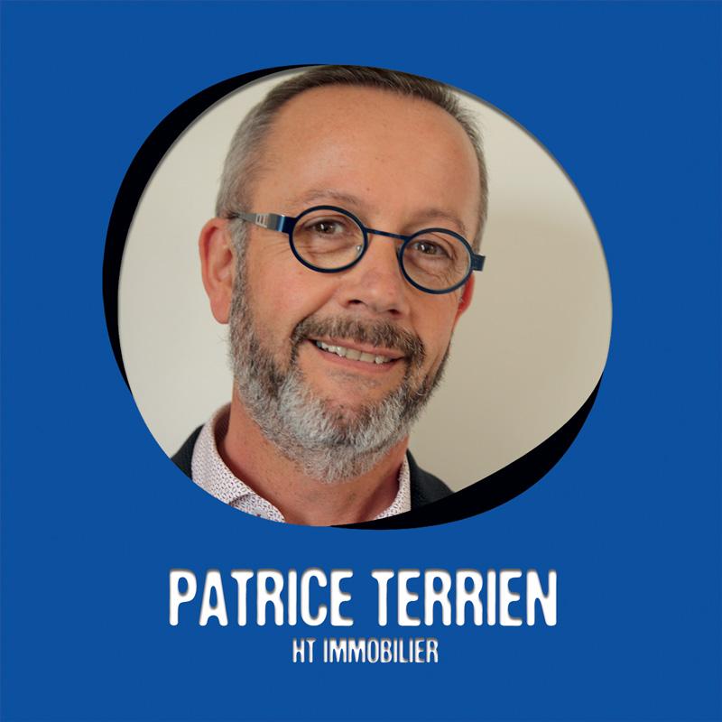 Patrice Terrien bénévole au Moulin Créatif