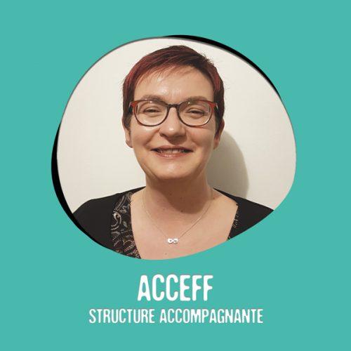 ACCEFF - Stéphanie Guilberteau membre de l'association Le Moulin Créatif