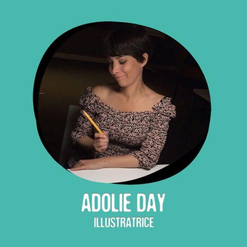 Adolie Day membre résidente au Moulin Créatif à Montaigu-Vendée