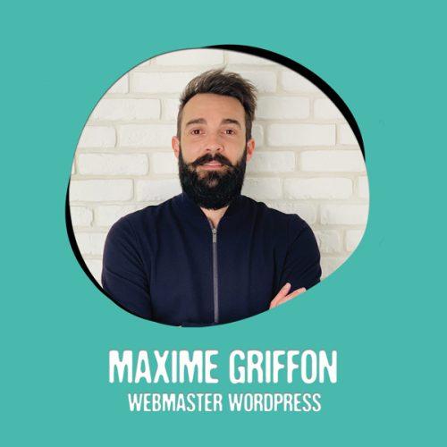 Maxime Griffon Webmaster