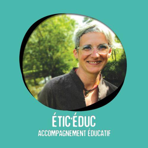 Etic'éduc alias Gaelle Pavageau éducatrice spécialisée adhérente au Moulin Créatif